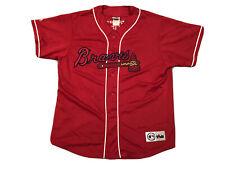 Gary Sheffield Atlanta Braves #11 Majestic Vintage Rare Red Jersey XL Stitched
