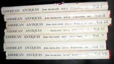 American Antiques From Israel Sack Collection: Volumes I - VII