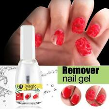 Magic Nail Polish Remover Acrylic Soak Off 15ml Burst Clean Remover De-greaser