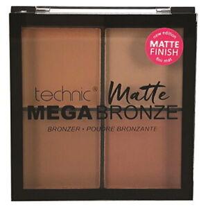 Technic Mega Bronze Matte Bronzer Quad Bronzing Powder