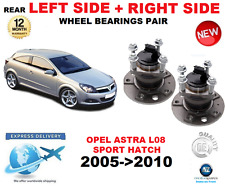 FOR OPEL ASTRA H REAR WHEEL BEARING L08 SPORT HATCH LEFT + RIGHT PAIR 2005->2010