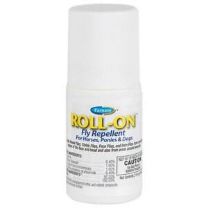 Roll-On Fly Repellent For Horses,Ponies and Dogs 2oz