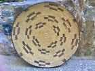 Antique Large Arizona Tohono O odham Indian Native American Basket Tray