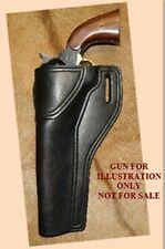 "Gary C's Leather Black Powder Left Hand Avenger Holster 1858 Army 8"", Remington"