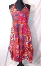 Gringo fair Trade Summer Dress Hippy Boho Festival Hippie Cotton Patchwork M/L
