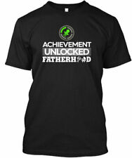 Fathers Day First Time Dad To Be - Achievement Gildan Tee T-Shirt