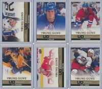 2013-14 Upper Deck Series 1 Series 2 CANVAS Young Guns Rookies YOU CHOOSE