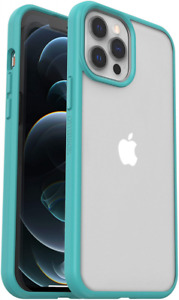 OtterBox for Apple iPhone 12 Pro Max, Slim Drop 12 Blue/Clear
