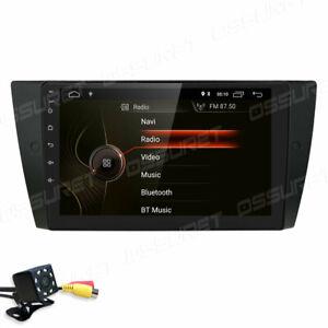 9'' Android 10 Autoradio GPS Navigation IPS für BMW E90 E91 E92 E93 3er DAB+ AUX