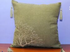 Luxury new style design beige, brown, olive cushion cover 40cm x 40cm pillowcase