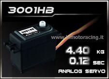 3001HB SERVO ANALOGICO DA 4,40 kg 0.12 sec HIGH SPEED POWER HD ANALOG 4,8V/6V