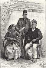 Antique print portrait Alahan Pandjang Sumatra VOC