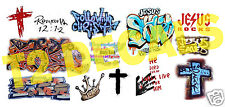 HO Scale Custom JESUS / GOD Graffiti Decals Set#4