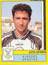 N°087 PLAYER DOXA DRAMA GREECE HELLAS PANINI GREEK LEAGUE FOOT 95 STICKER 1995