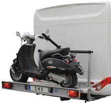 Portamoto 130kg, Porta Pacchi, Porta Scooter per Camper Furgoni trasporto moto