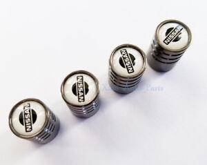 Universal 4pcs Car  Wheel Tire Air Valve Caps Stem Dust Cover Logo for Nissan