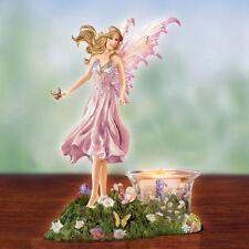 Rose Rhapsody Fairy Tealight Figurine Nene Thomas Bradford Exchange