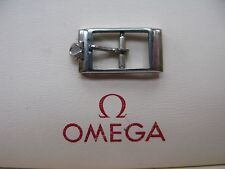 Omega Vintage Stainless Steel 10mm Watch Strap Buckle in Excellent Condition