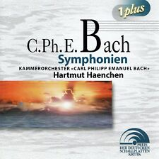 C.P.E. BACH : SYMPHONIEN / 2 CD-SET - TOP-ZUSTAND