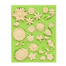 Silicone Flower Mould Cake Decor Icing Sugar Paste Chocolate  Mould UK SELLER 22