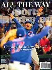 Sports Illustrated November 14, 2016 World Series, ANTHONY RIZZO & Kris Bryant