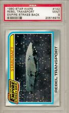 1980 STAR WARS #142 REBEL TRANSPORT - EMPIRE STRIKES BACK  PSA 9  MINT