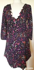Marc by Marc Jacobs Floral Deep V Long Sleeve Mini Dress Size M NWT