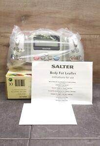 Salter Handheld Body Fat Analyser / Monitor - Model 590 ~ Brand New In Box