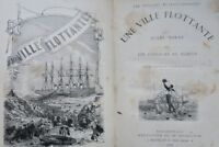 VERNE (Jules) Une ville flottante suivi de Les Forceurs de blocus, le chancel...