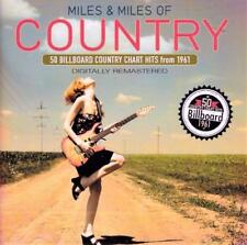 MILES & MILES OF COUNTRY - 50 BILLBOARD HITS FROM 1961 (NEW SEALED 2CD)