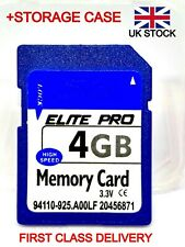 4GB SD card ELITE PRO class10 memory for camera, tablet, 3d printer, satnav NEW