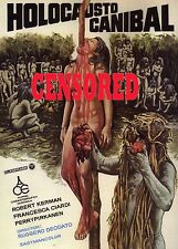 CANNIBAL HOLOCAUST MINI A4 LAMINATED MOVIE POSTER PRINT