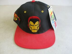 VINTAGE 1993 AMERICAN NEEDLE MARVEL IRON MAN HAT CAP NEW WITH TAG