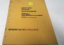 1982 NEW HOLLAND 80 BALE MOVER   Parts Book