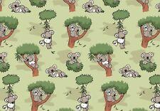 "Jersey NICI Eigenproduktion "" Koalas in Bäumen "" Emmilove - Kinderstoff"