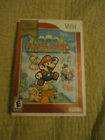 Super Paper Mario Nintendo Wii Selects Game Complete!