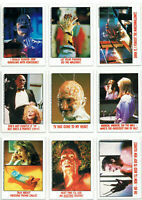 Nightmare on Elm Street - Freddy Krueger - 9x Trading Cards / Sammelkarten