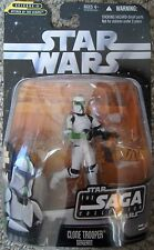 Star Wars Saga Collection Attack of the Clones clone trooper sergeant NMIB