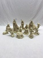 Holland Mold Nativity Scene 13 Piece 1965 Vintage