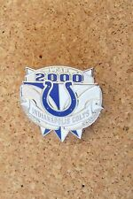 Year 2000 Indianapolis Colts lapel pin c29927 NFL