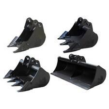 "Rhinox Mini Digger Bucket Set For Kubota KX36-2 / KX36-3 - 9"", 18"", 24"" & 36"""