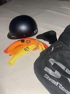 """Shred Ready Helmet (Carbon Fiber) """"Super Scrappy"""""""