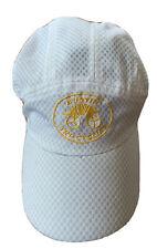 New listing Running Triathlon Austin Tri-cyclist Hat 6-panel White Wicking Breathable EUC