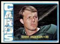 1972 Topps Donny Anderson Autograph Jsa Auction Coa Auto Arizona Cardinals #32