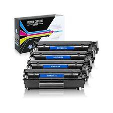 Q2612A / 12A Toner for HP LaserJet 1010/LaserJet 1012,LaserJet 10 (Black,4 Pack)