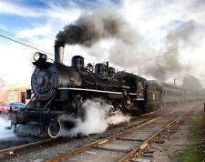 "20x30""Poster Decor.Room design art print..Railroad train.Locomotive.6161"