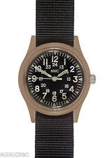 MWC Desert Series 1960/70s Vietnam Pattern Military Watch on Webbing Strap