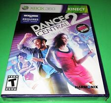 Dance Central 2 Microsoft Xbox 360 *Factory Sealed! *Free Shipping!