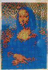 Invader (after) «Rubik Little Mona Lisa» Space Invader