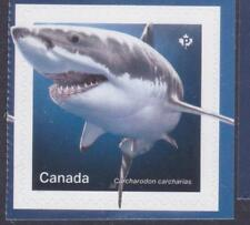 Canada 2018 #3106 SHARKS (White shark) a - Unused